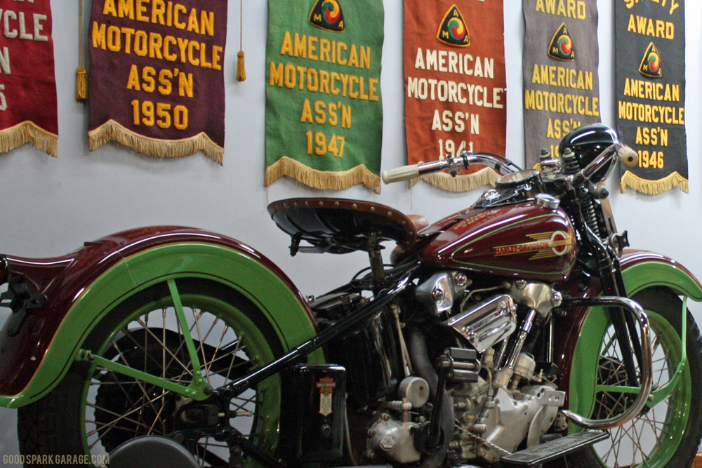 Tractor Seat Motorcycle : Wheels through time vintage motorcycle museum