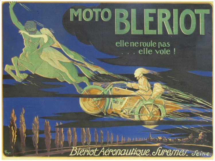 Bleriot Poster
