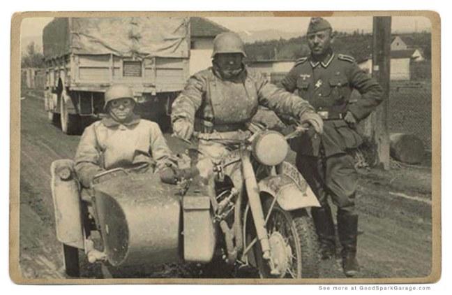 Sidecar in WW2