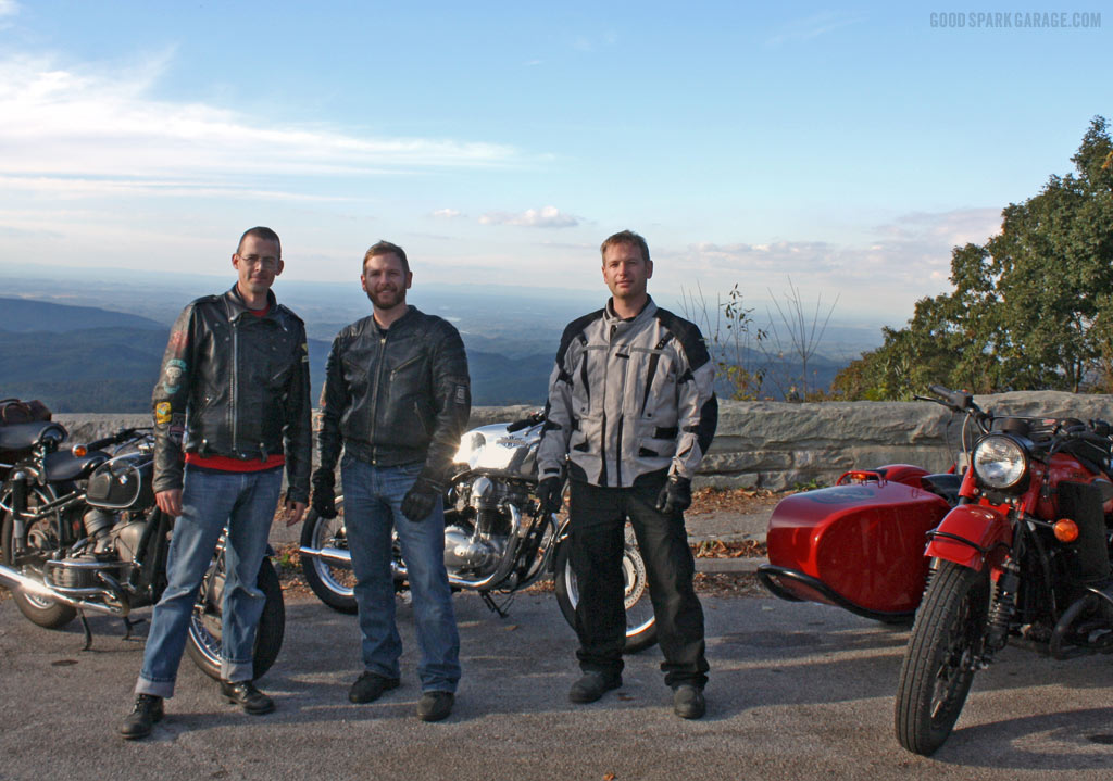 Chris Corey Casey on Cherohala Skyway