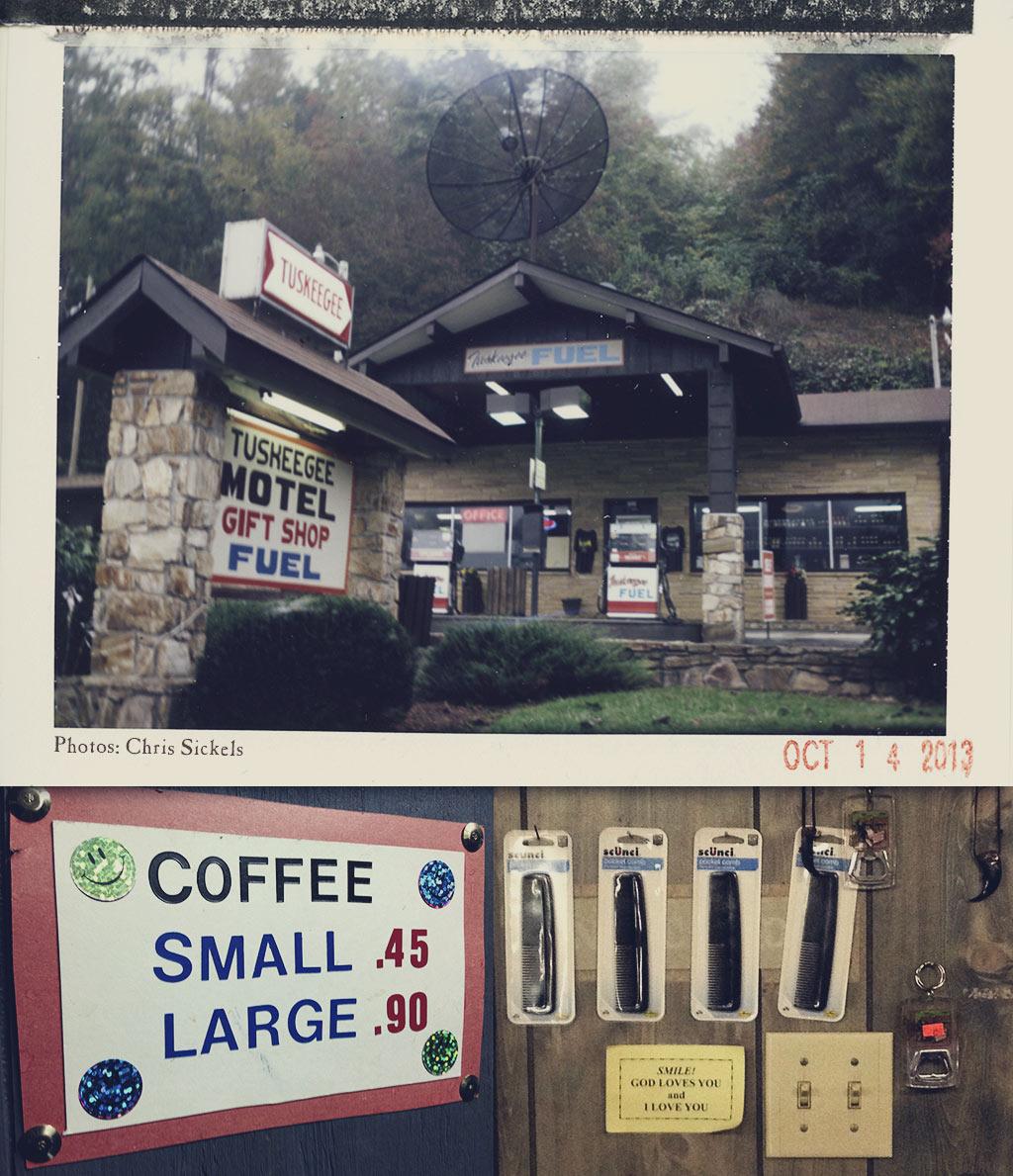 Tuskeegee Motel Off HWY 28 North Carolina