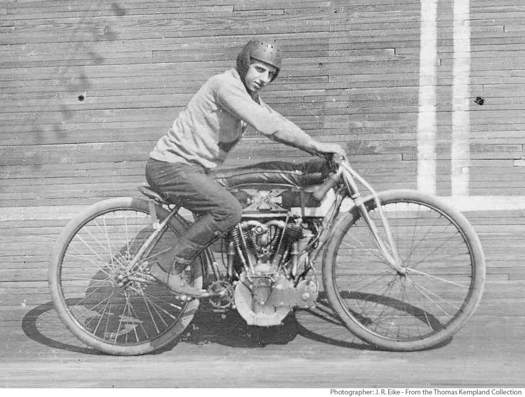 St. Louis Motordrome Racer John Hoefeler