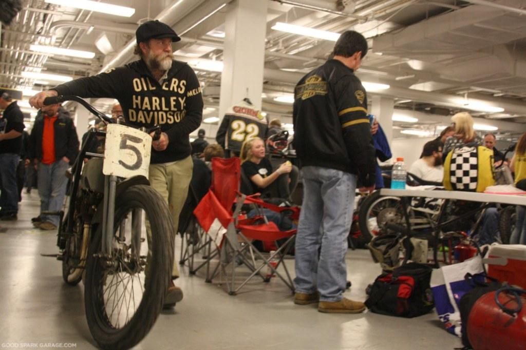 Vintage Harley-Davison Racer