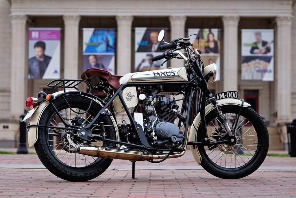 Janus Motorcycles Halcyon 250