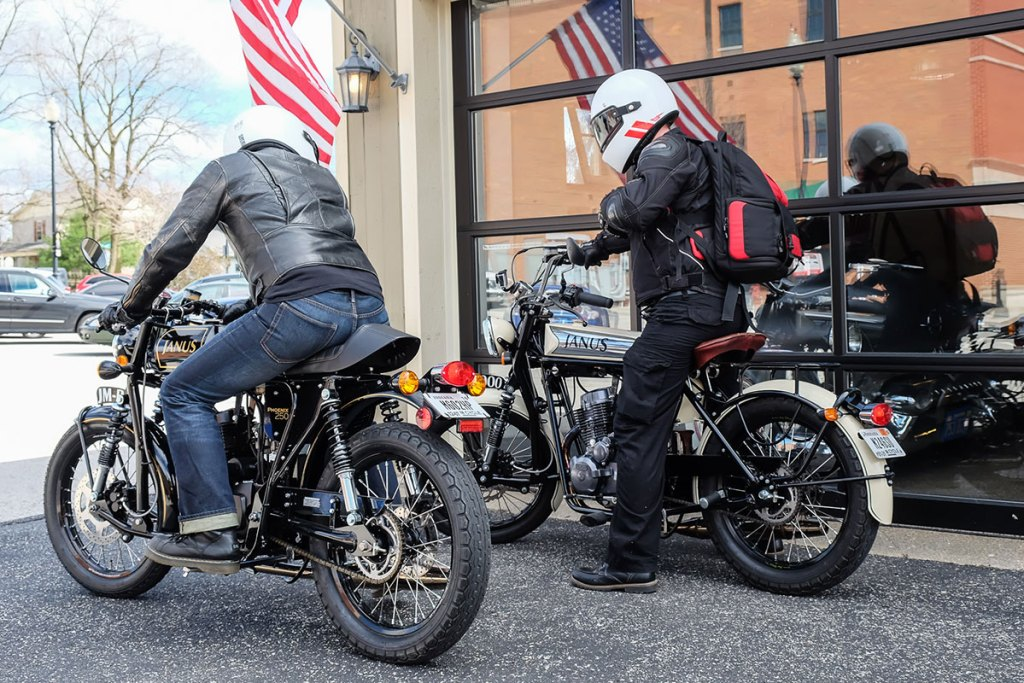 Janus Motorcycles Test Ride