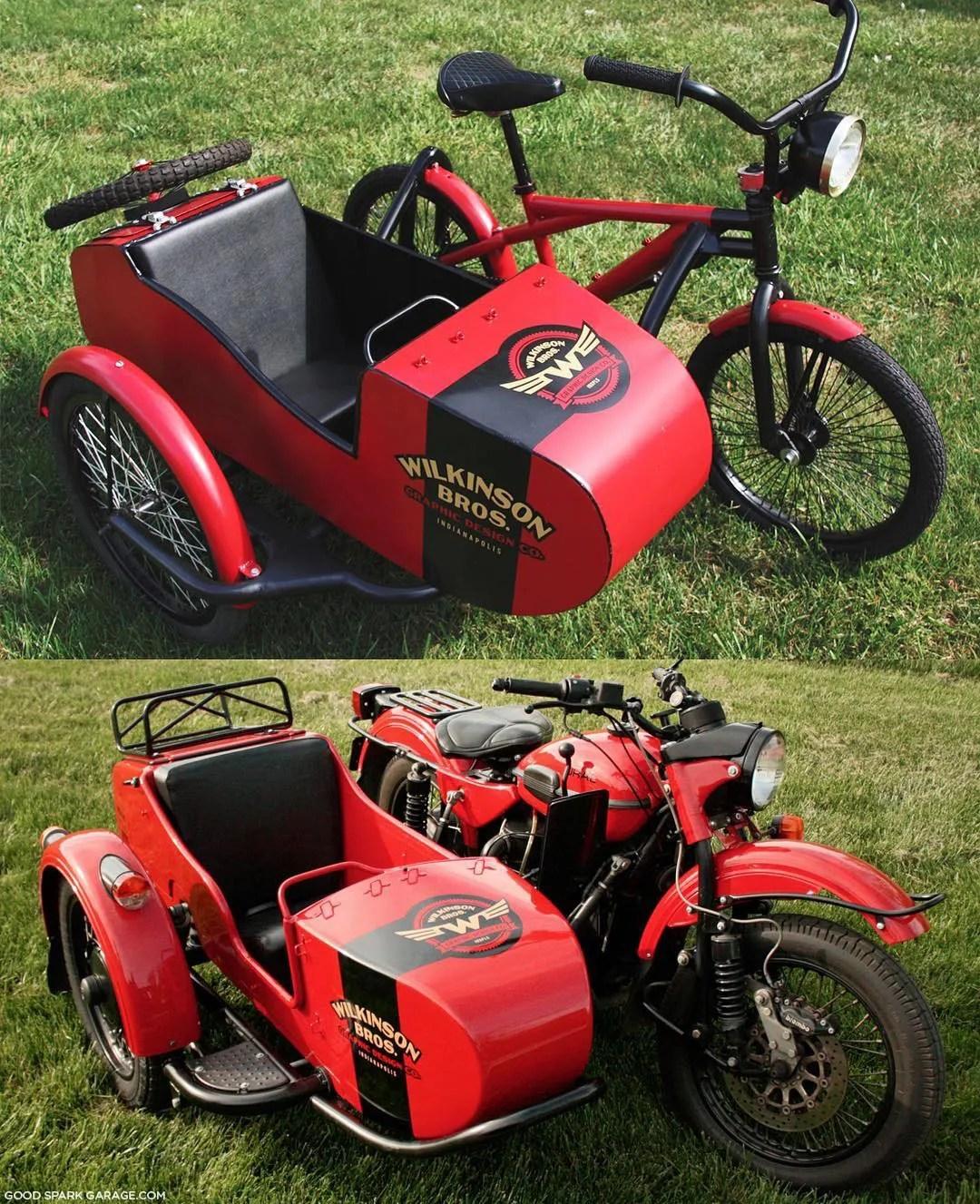 Wilkinson Bros Sidecar Bicycle