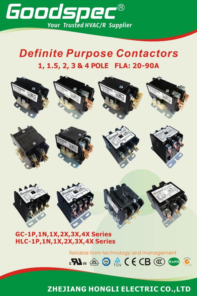 安全,可靠,节能,高寿命,高分断的空调用交流接触器