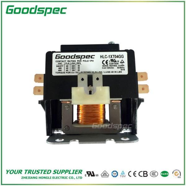 HLC-1XT04GG(1P/40A/120VAC) DEFINITE PURPOSE CONTACTOR