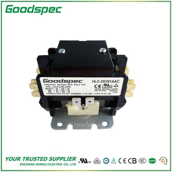 HLC-2XV01AAC(2P/25A/277VAC) DEFINITE PURPOSE CONTACTOR