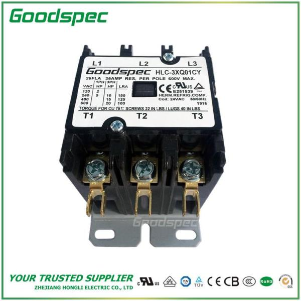 HLC-3XQ01CY(3P/25A/24VAC)DEFINITE PURPOSE CONTACTOR