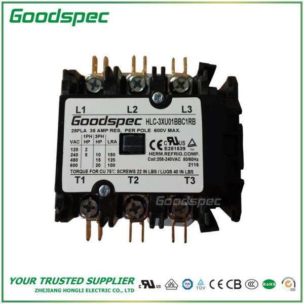 HLC-3XU01BBC1RB(3P/25A/208-240VAC)DEFINITE PURPOSE CONTACTOR