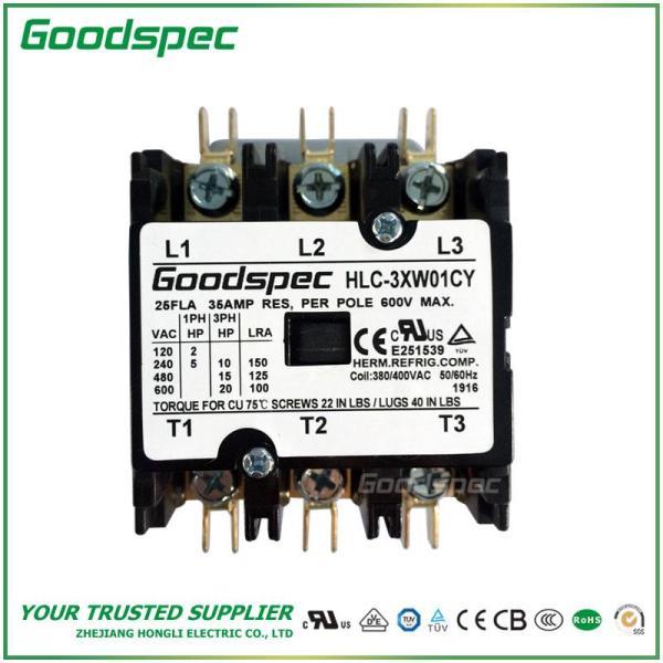 HLC-3XW01CY(3P/25A/380-400VAC)DEFINITE PURPOSE CONTACTOR