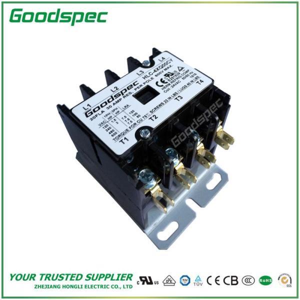 HLC-4XQ00CY(4P/20A/24V) DEFINITE PURPOSE CONTACTOR