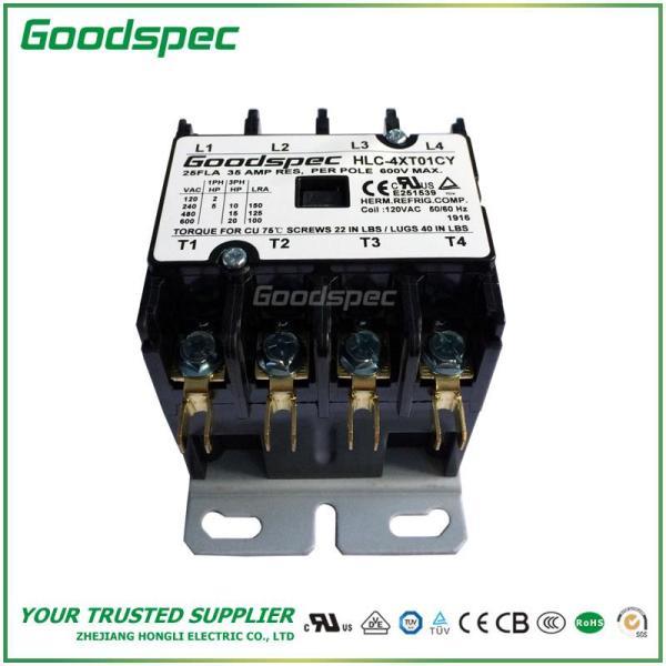 HLC-4XT01CY(4P/25A/120V) DEFINITE PURPOSE CONTACTOR