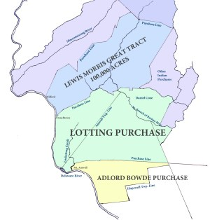 Indian Purchases in Hunterdon County