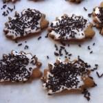gingerbread hedgehog cookies