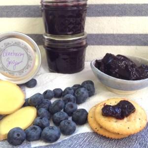 Blueberry-Ginger Jam 1200