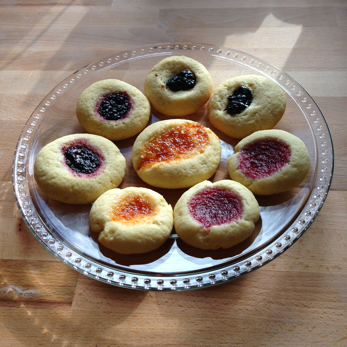 thumbprint cookies with jam 1200