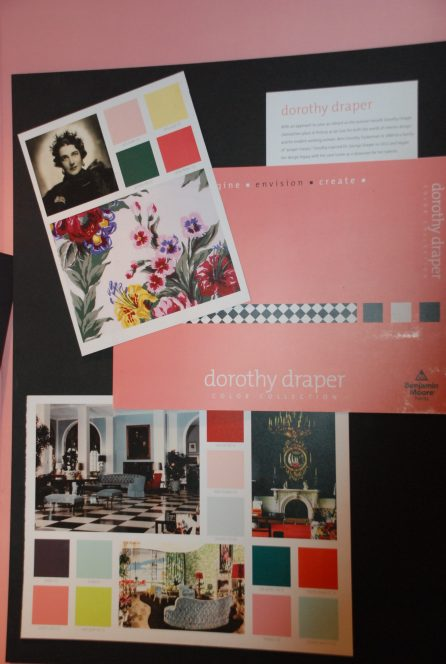 Dorothy Draper Paint Colors at The Greenbrier