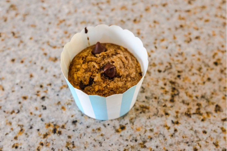 Healthy muffins pretty enough for a party
