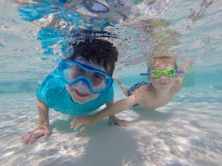 GoPro for kids - underwater