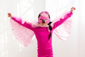 Flamingo pajama costume