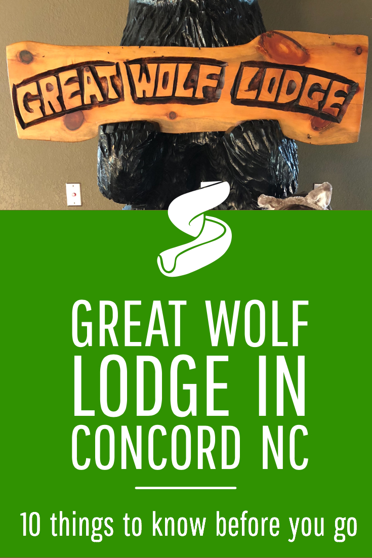 Visiting Great Wolf Lodge in Concord, NC