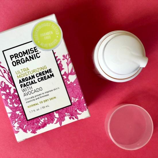 Promise Organic Ultra Moisturizing Argan Creme Face Cream With Avocado