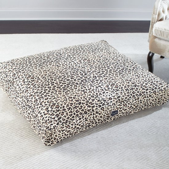 Leopard Print Dog Bed
