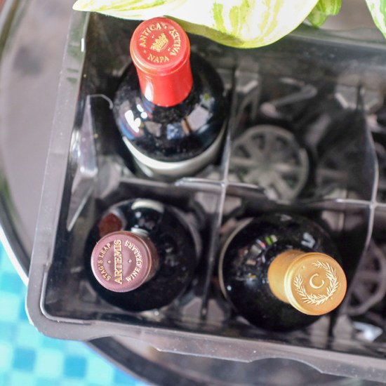 wine travel and storage crate