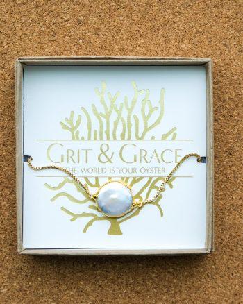 Grit and grace adjustable bracelet