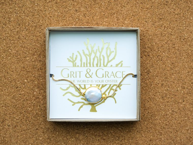 Grit and grace adjustable bracelet