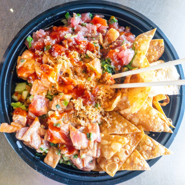 Jimmyz poke bowl
