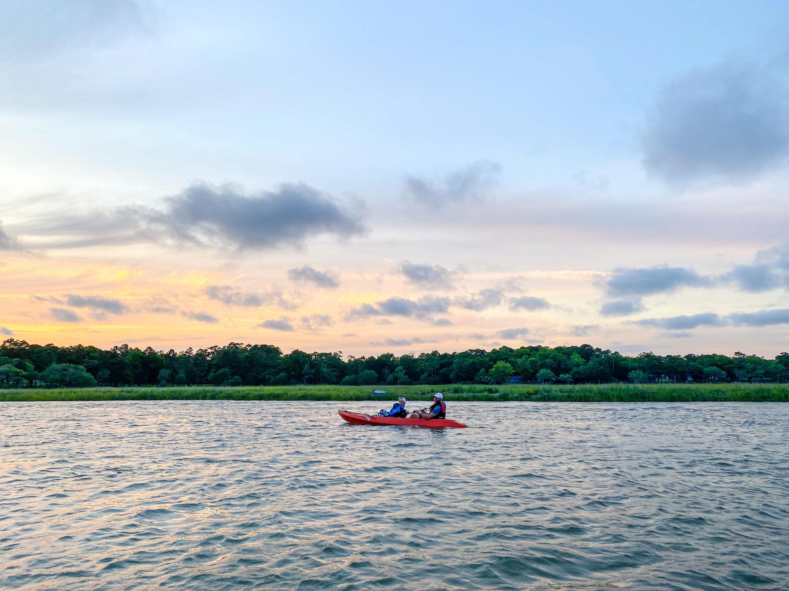 Kayaking in North Myrtle Beach
