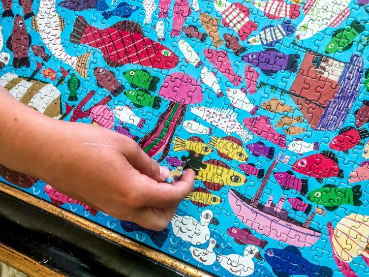 Eeboo pretty puzzles
