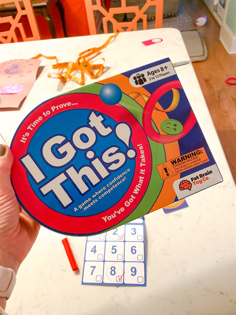 'I got this' game