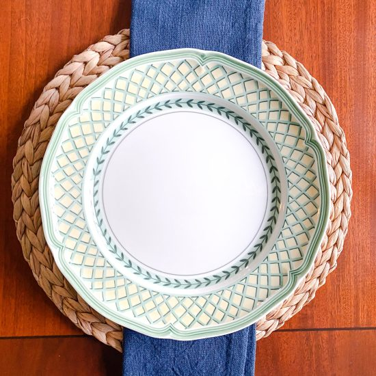 Affordable Round Rattan Placemats