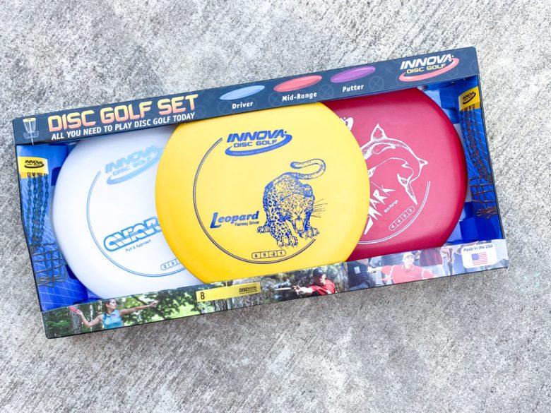 Disc golf course starter set