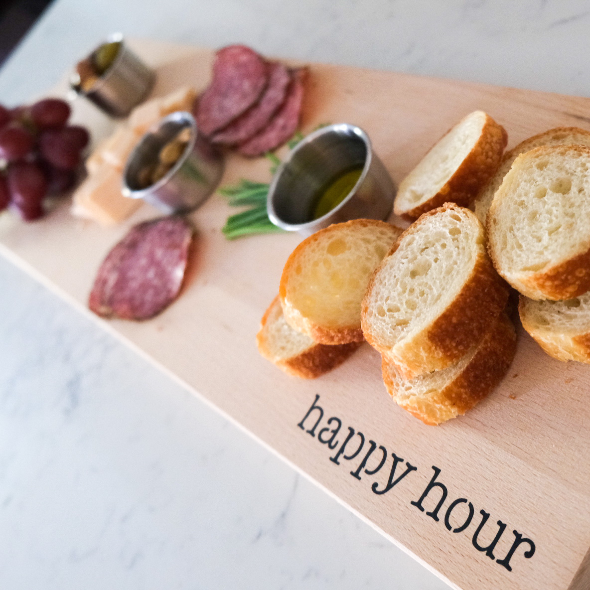 Wooden boards for charcuterie