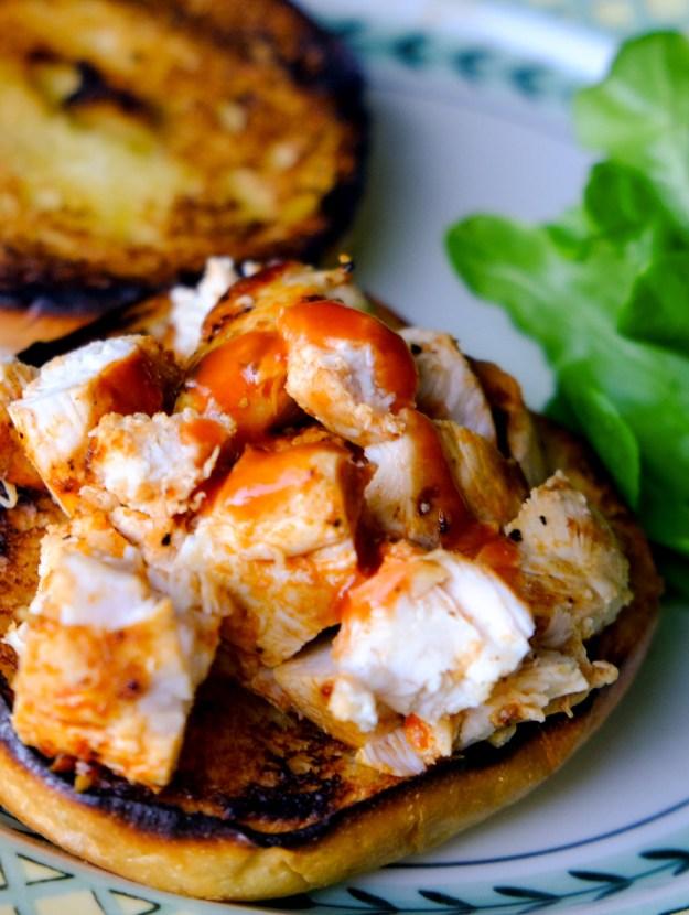 Grilled Buffalo Chicken Sandwich