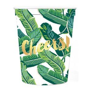 Banana leaf cups