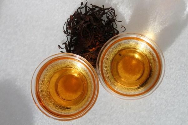 Цитроновый чёрный чай