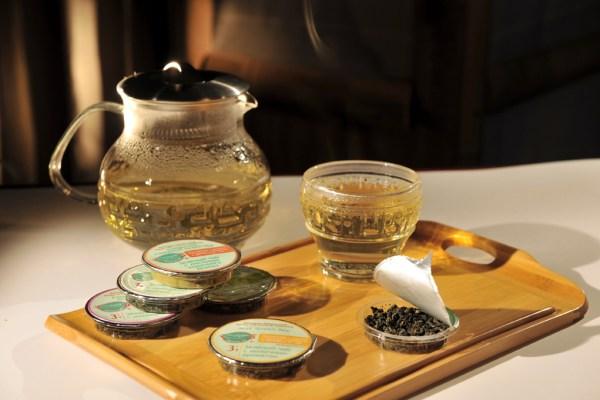 Порционный чёрный чай с личжи