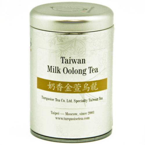 Тайваньский улун «Золотой цветок с молочным ароматом»