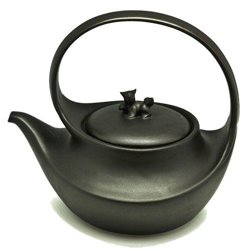 """Чайник глиняный """"Шуй Ху"""" для кипячения воды (2 литра)"""