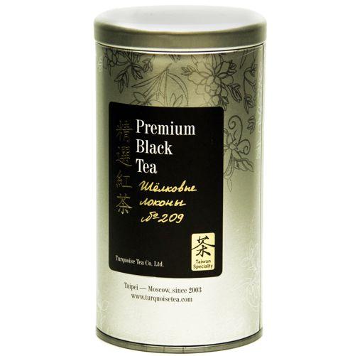 Чёрный чай Тайваньский 209 «Шелковые локоны»