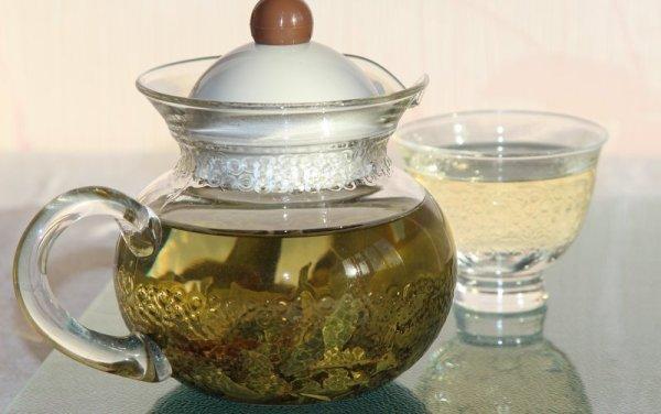 Горный органический зелёный чай