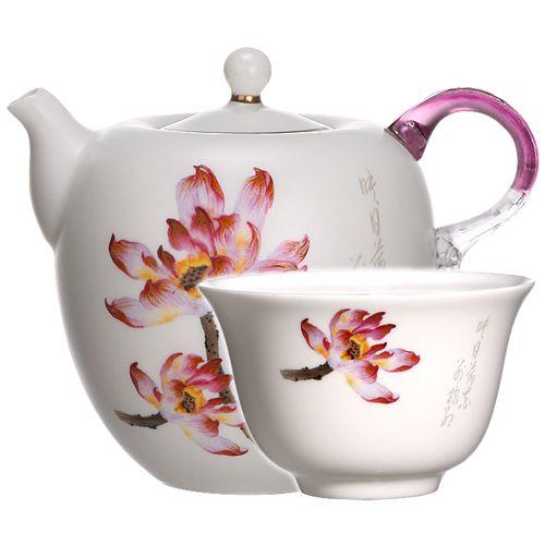 Набор для чаепитий «Лазурит и лотос»