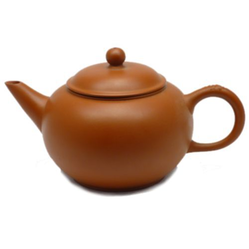 Глиняный клеймёный чайник (120 мл)