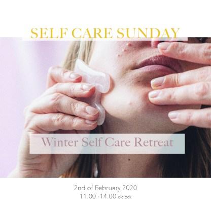 Winter self care retreat Tea stories guasha meditation yoga